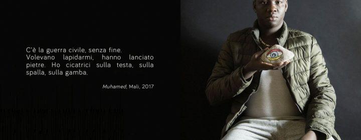 1) Io sono-I am, Muhamed, @ Luisa Menazzi Moretti, 2017