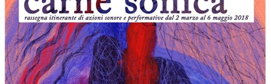 23-02-18 carne sonica_locandina