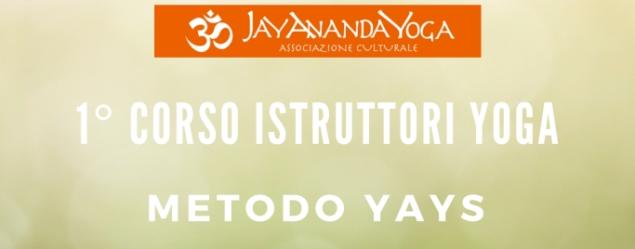 29 marzo Corso Istruttori Yoga