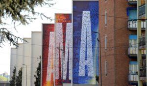 Milano case popolari street art