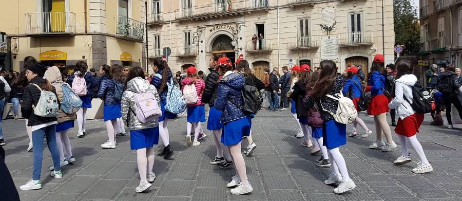 Coreografia di una scuola secondaria