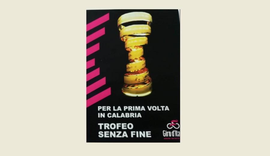 Trofeo senza fine del Giro d'Italia a Mileto