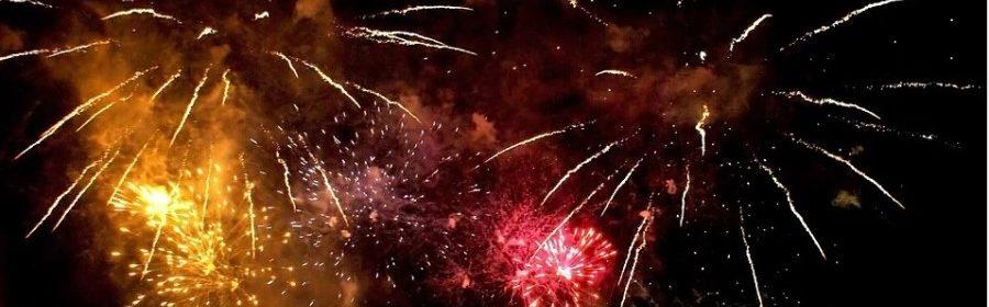 Fuochi d'artificio botti