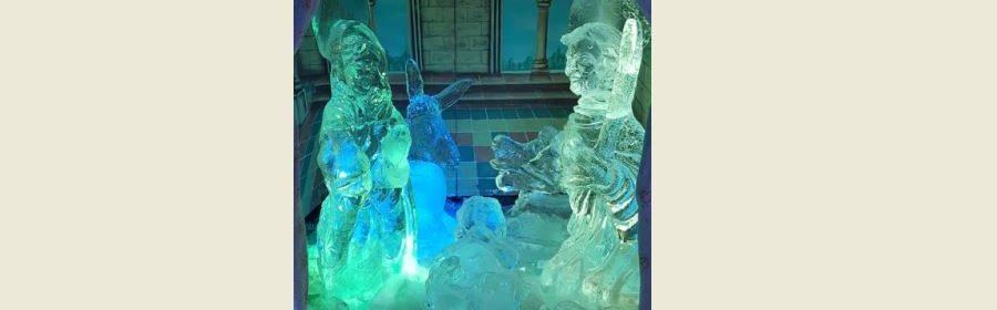 Presepe di ghiaccio Spoleto