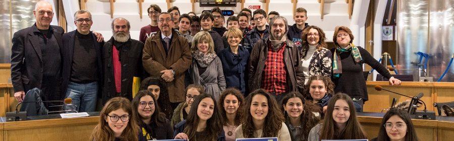 Concorso Shoah foto di gruppo
