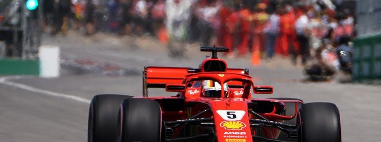 Vettel canda gp
