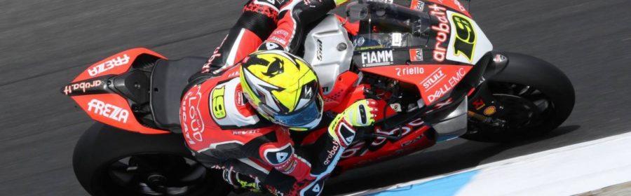 Alvaro Bautista Ducati