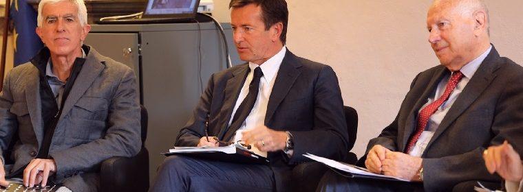 Da sinistra_Luca Merisio-Giorgio Gori-Emilio Moreschi_Ph Tiffany Pesenti