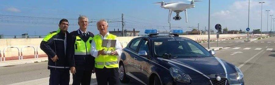Droni polizia Bari
