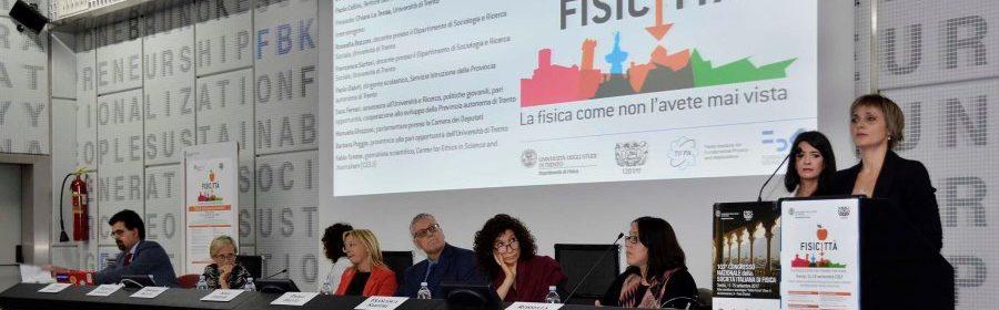 """Fondazione Bruno Kessler - Povo- 14-09-2017 Convegno: """"Ricerca: quali spazi per le donne"""""""