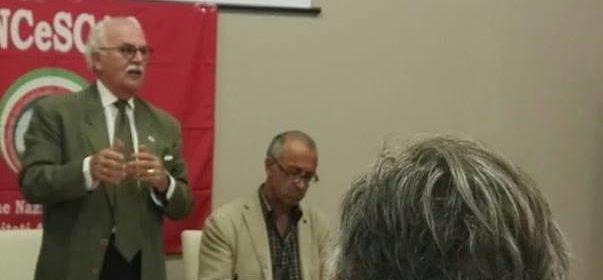 Foto L'intervento del Presidente Nazionale ANCeSCAO a Melfi