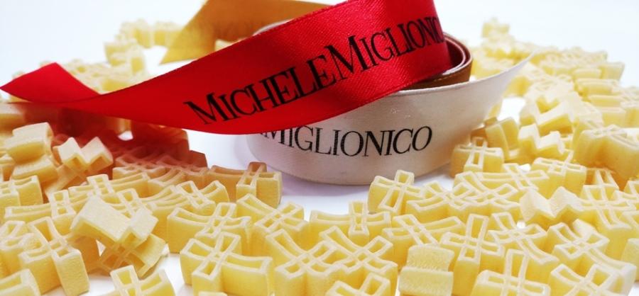 """Michele Miglionico firma anche la """"Sacra pasta"""""""
