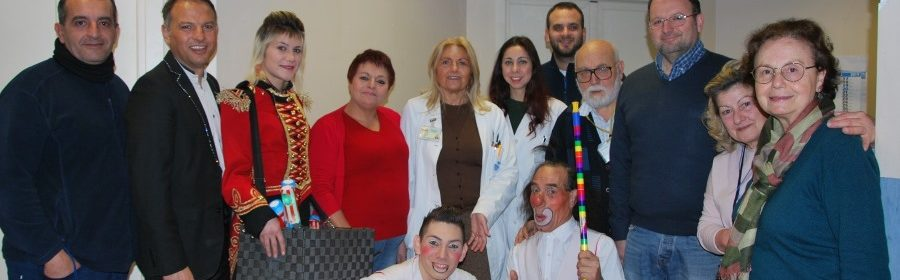Circo in ospedale Palermo