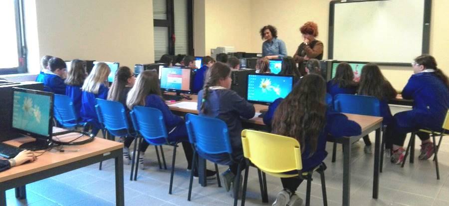 Incontro con la scuola primaria dell'I.C. S.Tommaso-F.Tedesco