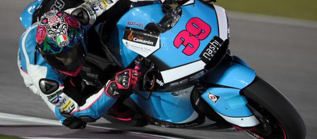 Luis Salom, Qatar Moto2 Test 2016