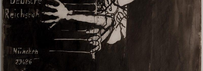 Mario Lattes, Deportati, 1959, china, 47,8x67,8 cm bd