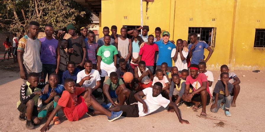 Coach Antonio Petillo e la sua Africa