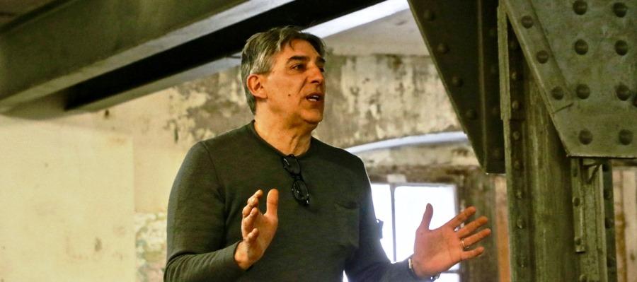 Il direttore dell'Irci Piero Delbello