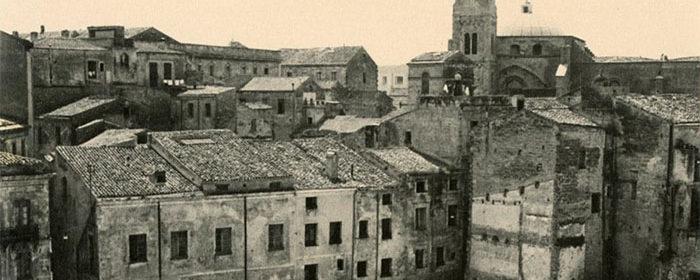 Il centro storico di Sassari.  Mappatura delle evidenze sotterra
