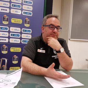 Pino Sacripanti, coach Sidigas Scandone Basket Avellino