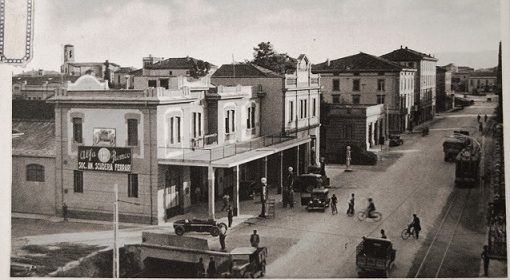 Scuderia Ferrari in viale Trento e Trieste anni 30