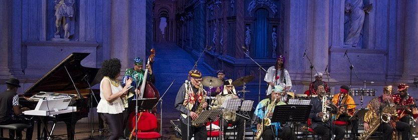 concerto Sun Ra Arkestra 18-05-14 (foto Francesco Dalla Pozza)