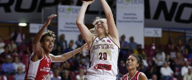 Laura Meldere Umana Reyer Venezia vs DVTK FIBA EuroLeague Women 2019/2020 Venezia, 02/10/2019 Foto A. Gilardi/Ag. Ciamillo Castoria