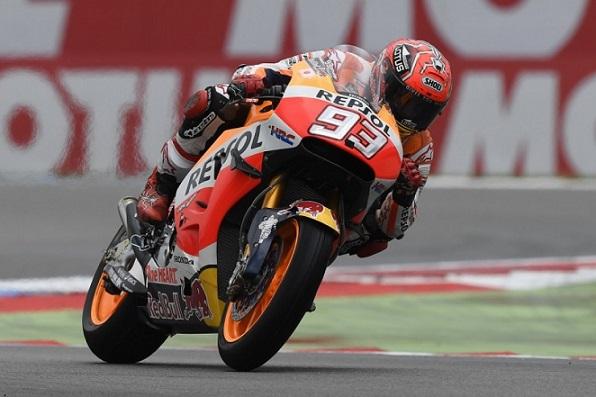 Marquez, pole bagnata a Le Mans