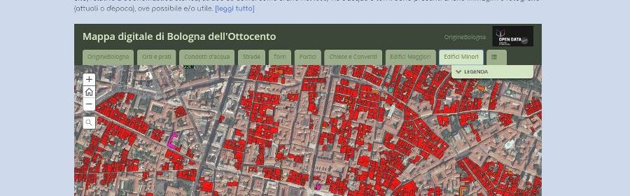 origini di Bologna sito
