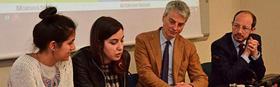 Facoltà di Lettere e Filosofia Trento 26-03-2019. Convegno in memoria di Antonio Megalizzi.