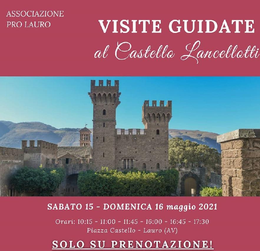 Ritornano le visite guidate al Castello Lancellotti!