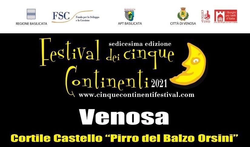 Il Festival dei Cinque Continenti torna a Venosa: in scena la XVI edizione