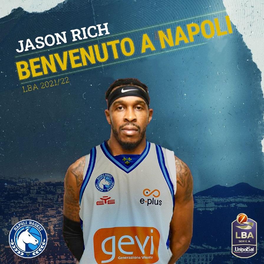 Colpo Gevi Napoli Basket : arriva Jason Rich